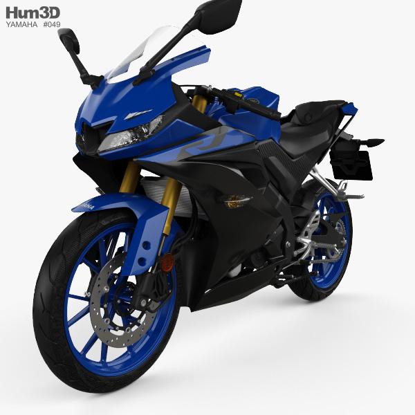 Yamaha YZF-R125 2019 3D model
