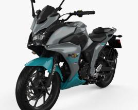 3D model of Yamaha Fazer 25 2018