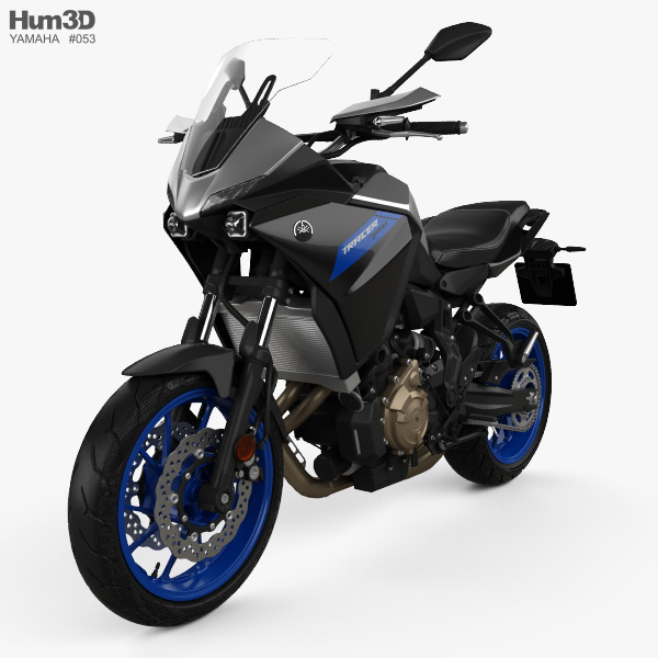 3D model of Yamaha Tracer 700 2020