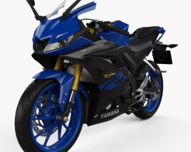 3D model of Yamaha R15 2020