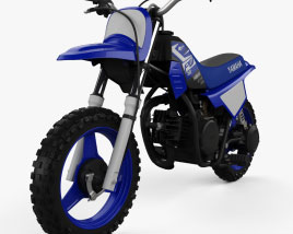 3D model of Yamaha PW50 2020
