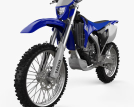 3D model of Yamaha WR250F 2007