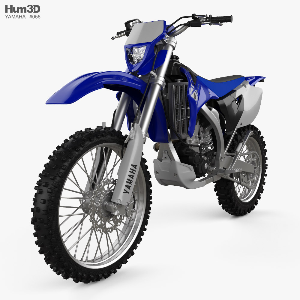 Yamaha WR250F 2007 3D model