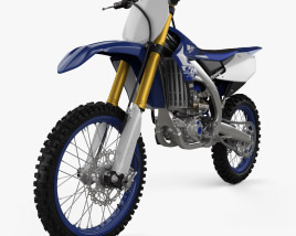 3D model of Yamaha YZ250F 2020