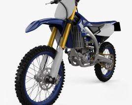 3D model of Yamaha YZ450F 2020