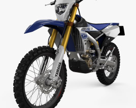 3D model of Yamaha WR450F 2016