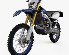 3D model of Yamaha WR450F 2020