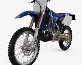 3D model of Yamaha YZ250 2008