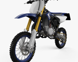 3D model of Yamaha YZ65 2019