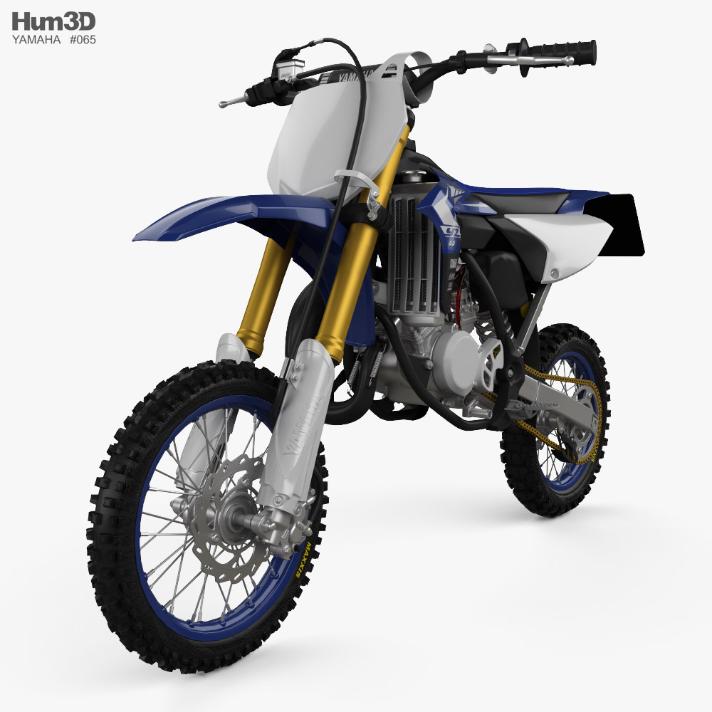 3D model of Yamaha YZ65 2019