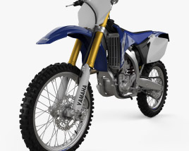 3D model of Yamaha YZ450F 2007