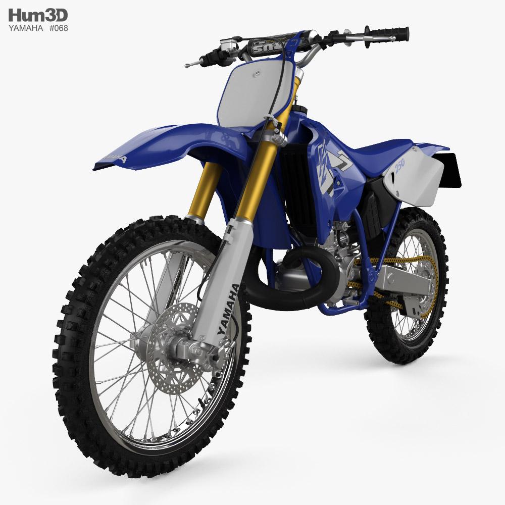 Yamaha YZ250 1998 3D model