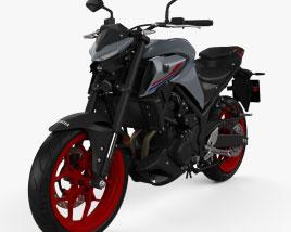 Yamaha MT-03 2021 3D model
