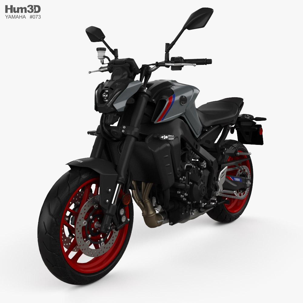 Yamaha MT-09 2021 3D model