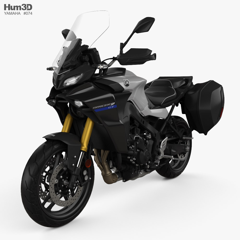 Yamaha Tracer9 GT 2021 3D model