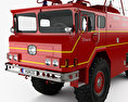 Yankee-Walter PLF 6000 Dry Powder Fire Truck 1972 3d model
