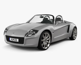 3D model of YES! Roadster 3.2 2006
