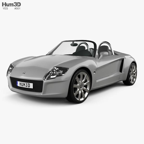 YES! Roadster 3.2 2006 3D model