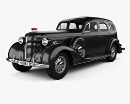 3D model of ZIS 101A 1939
