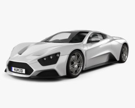 3D model of Zenvo ST1 2010
