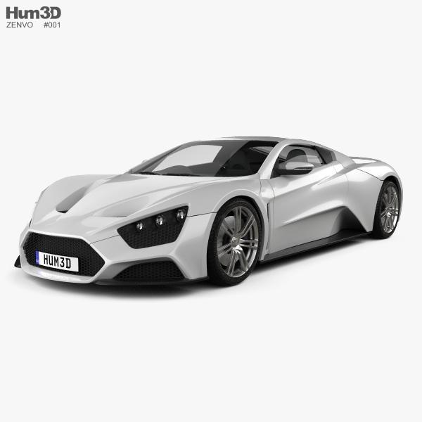3D model of Zenvo ST1 2010