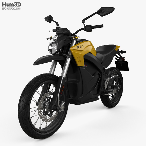 3D model of Zero Motorcycles DS ZF 2014