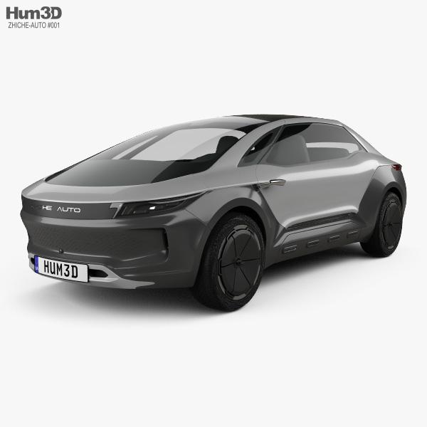 3D model of Zhiche Auto MPV 2016