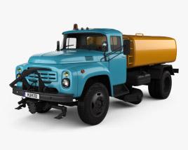 ZIL 130 Street Cleaner Truck 1964 3D model