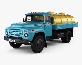 ZIL 130 Tanker Truck 1964 3D model