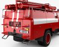 ZIL 130 Fire Truck 1970 3d model