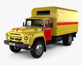 ZIL 130 Service Truck 1964 3D model