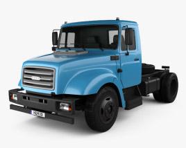3D model of ZiL 43276T Tractor Truck 2015