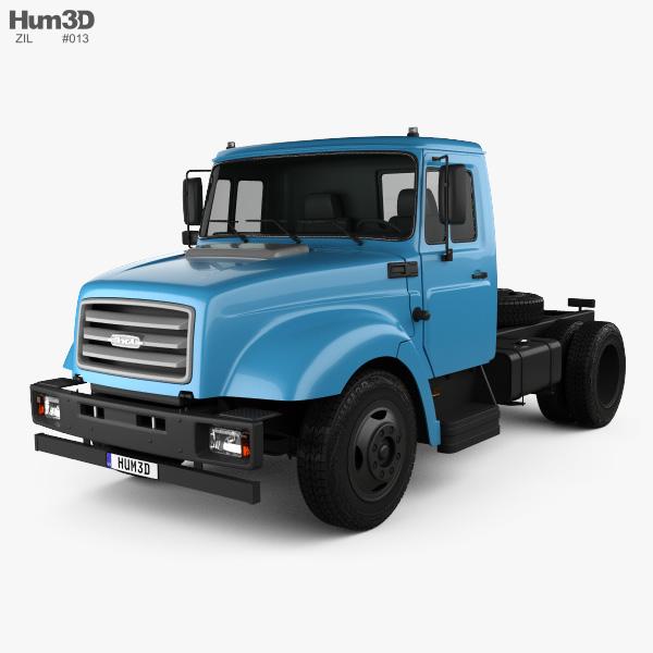 ZiL 43276T Tractor Truck 2015 3D model