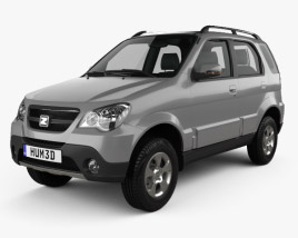 3D model of Zotye 5008 2008
