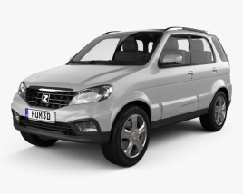 3D model of Zotye T200 2013