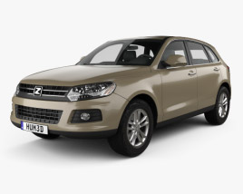 3D model of Zotye T600 2013
