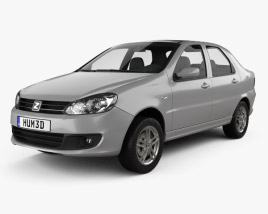 3D model of Zotye Z200 2011