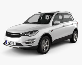 3D model of Zotye Damai X5 2015