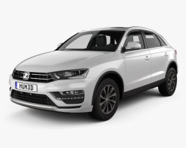 3D model of Zotye SR7 2016