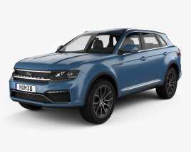 3D model of Zotye Domy X7 2017