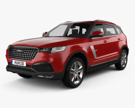 3D model of Zotye T700 2017