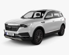 3D model of Zotye T500 2018